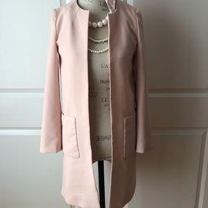 H&M blush jacket size 2